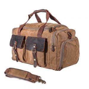 Overnight Bags for men with front and side pockets